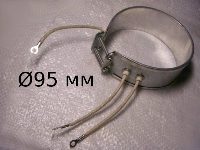Нагревательный электротэн на термопот 95 мм мощностью 500 Вт