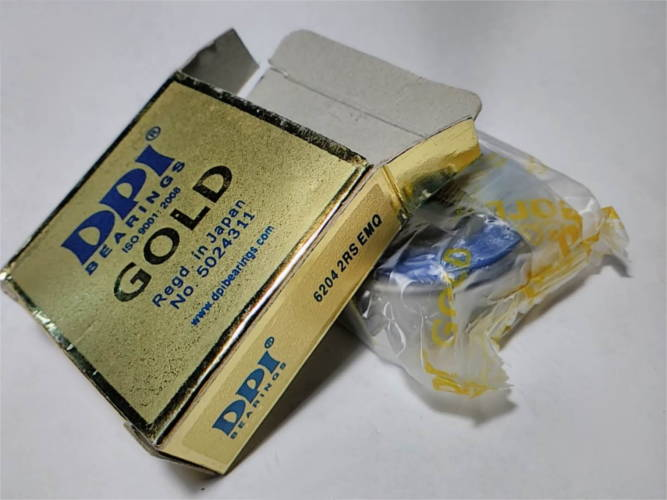Подшипник 6204 DPI Gold размером 20*47*14