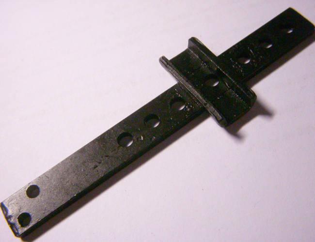 Плоский шток электролобзика Техмаш, Craft-tec 1100 длиной 107 мм