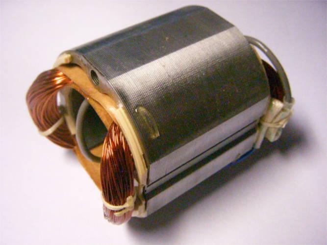 Статор d36*58-L48-52*57.5 под якорь 35 мм для шлифовальной машины