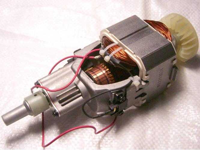 Электродвигатель садового триммера AL-KO, Тайга, Кедр КГ-2100, Элпром ЭТЭ-2000, Элтос