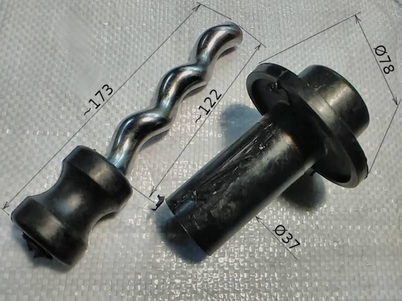 Шнек винтового погружного насоса Omnigena EVJ 2.5-60-0.75
