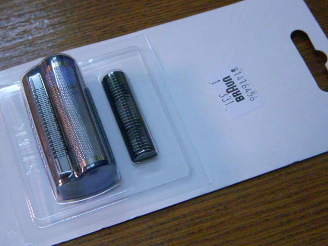 Стригущий блок для электробритвы Braun 3000 series Excel 3105, 3773, 3770, 3710, 3615