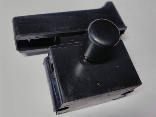 Кнопка с фиксатором для болгарки Темп 180, 230 1,9 KW