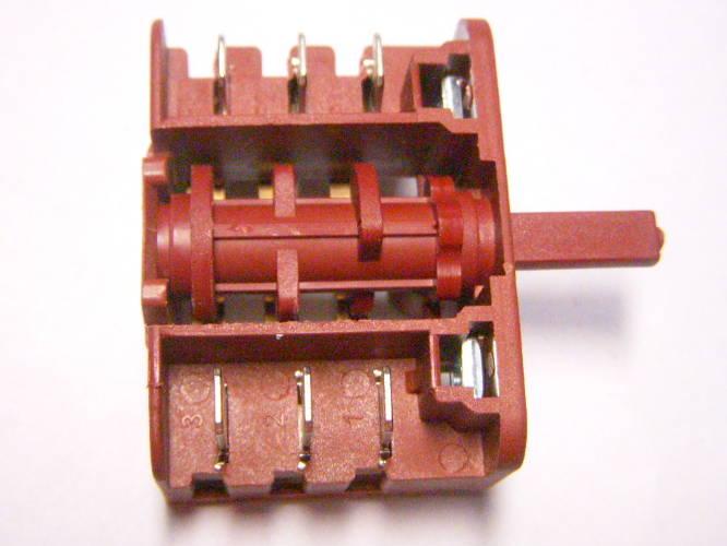 5-ти позиционный переключатель электроплиты Luxell LF 60, Термия, EFBA на 3x3 контакта