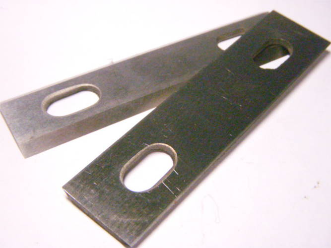 Комплект ножей 102*24 для электрорубанка Rebir