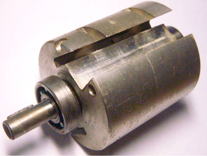 Вал барабан 73*125*68 для советского электрорубанка