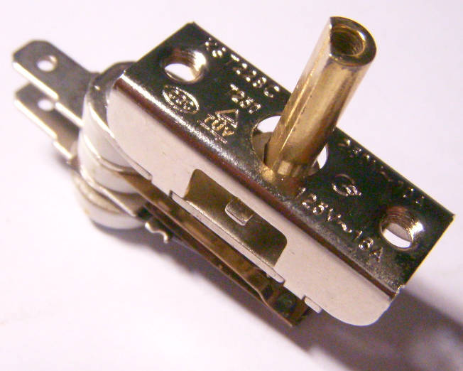 Биметаллический терморегулятор 16 Aмпер для электроплиты Злата, Stenson, Saturn