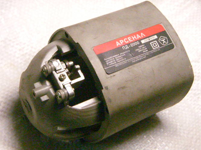 Корпус двигателя циркулярной электропилы Арсенал Пд-2000