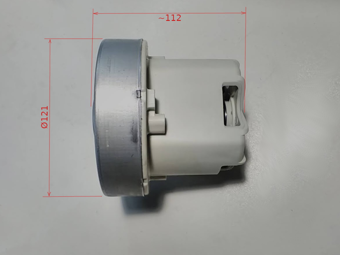 Электродвигатель d120*h110 для пылесоса Philips Jewel FC9064