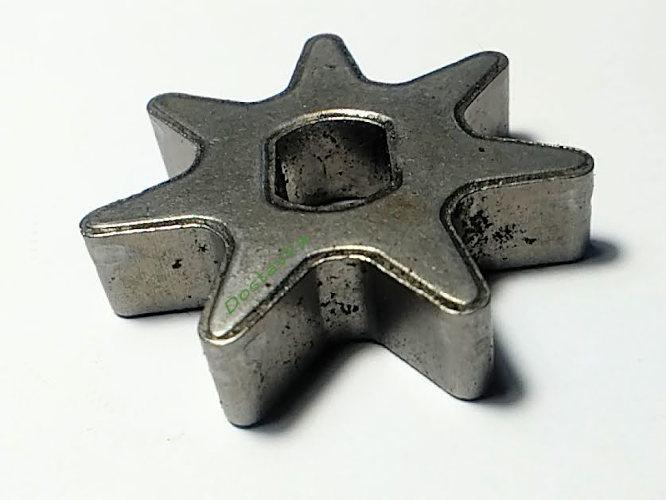 Острозубая звезда 7 зубов цепной электропилы Expert, Тайга, Протон, Мастер Данило