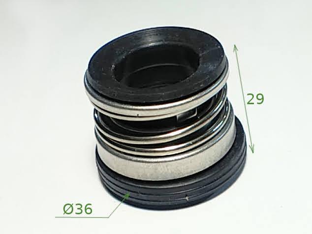Торцевой пружинный сальник TS-104 для насоса Гном