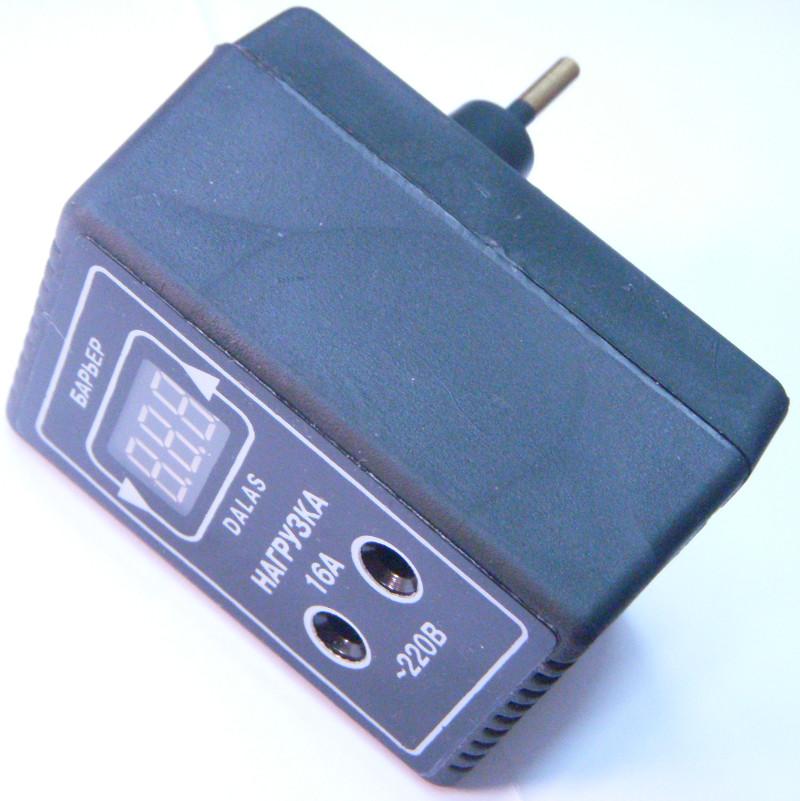 Цифровое устройство защиты электропитания приборов до 16 Ампер