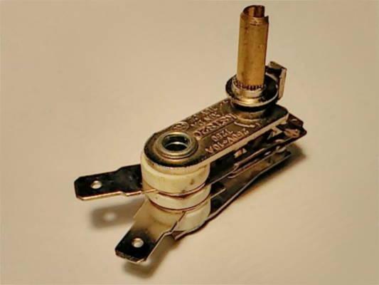 Переключатель терморегулятор для электровафельницы