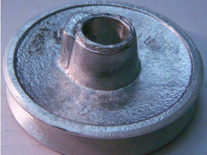Металлический шкив двигателя стиральной машины РИГА