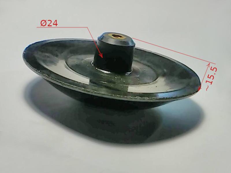 Активатор d108*14-h16 стиральной машины Малютка с правой резьбой