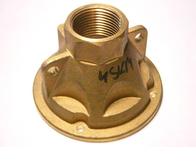 Оригинальная крышка-патрубок скважинного насоса 4SKM 100