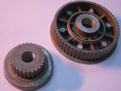 Оригинальный комплект шкивов электрорубанка Makita
