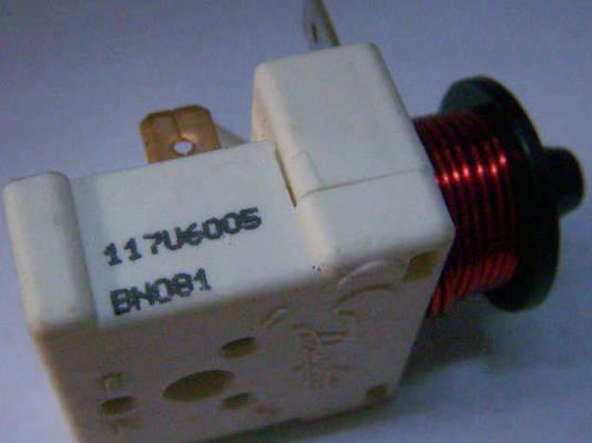Пусковое реле Danfoss 117U6006 с катушкой 0.6 Ампера
