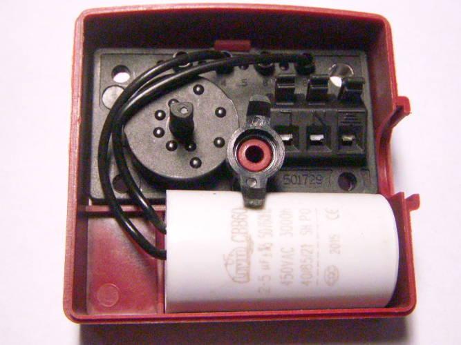 Конденсаторная коробка насоса Grundfos