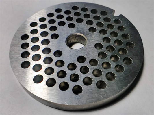 Сетка d9*61.5-h6 для мясорубки ZELMER с ячейкой 4 мм