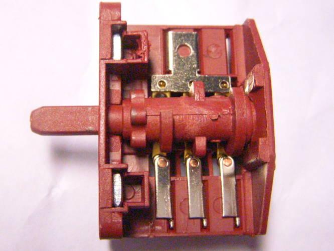 Пятипозиционный переключатель электроплиты на 3*2 контакта 16 Ампер