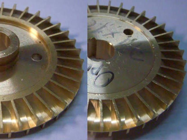 Оригинальная крыльчатка 71*12 для вихревого насоса SKM 100, Cristal, PEDROLLO, Euroaqua