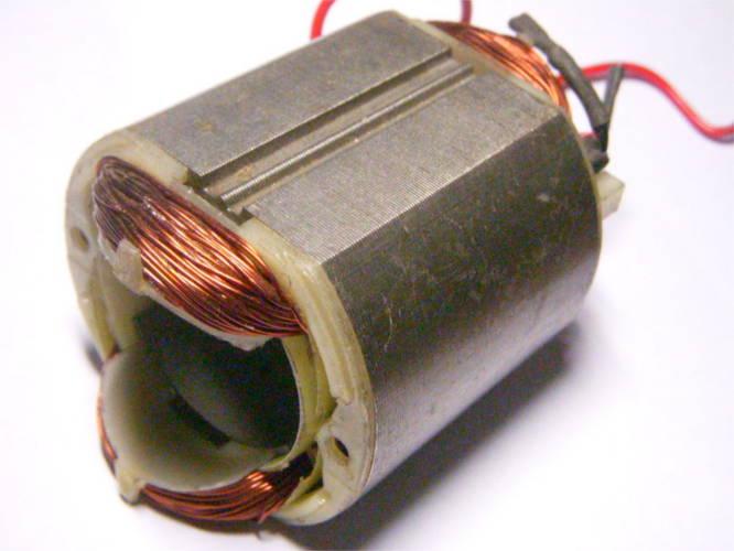 Статор болгарки d65*39-L55 на электрокосу Soma SM1257