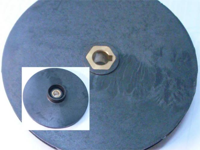 Рабочее колесо 120 мм с латунной втулкой для насос Буран, Marina-Sperony Днипро М