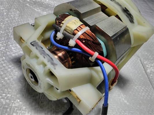 Ремонт электродвигателя для газонокосилки Einhell GC-EM 1030