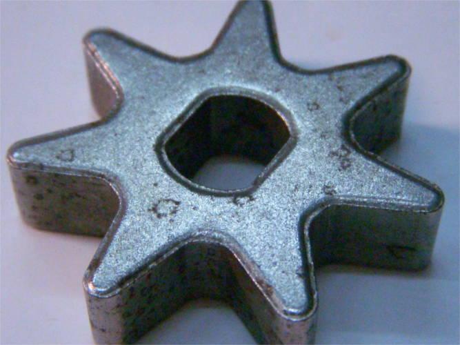 Звезда на 7 зубов для цепной электропилы Expert, Тайга, Протон, Мастер Данило