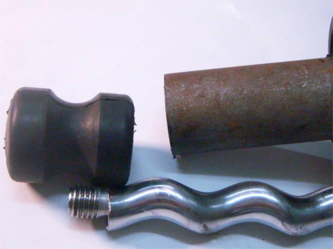 Шнек d80-12-L173-122 для винтового насоса под трубу 80 мм