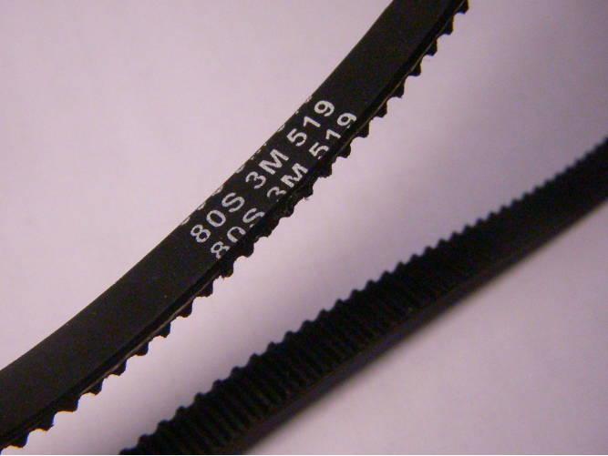 Ремень  80S 3M 519-8 для хлебопечки Liberton шириной 8 мм