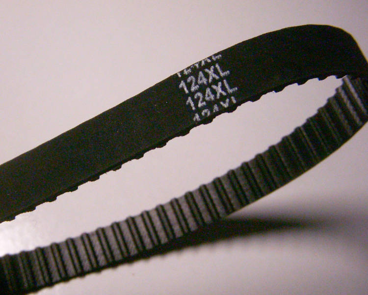 Зубчатый ремень 124XL для шлифовальной машины Erbauer