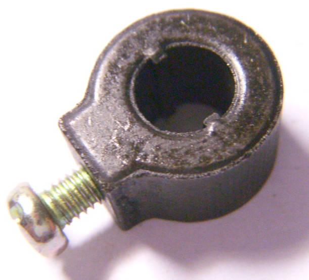 Пилкодержатель электролобзика Matrix, Powerplus с направляющими на шток 8 мм