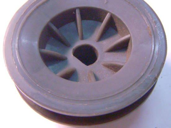 Пластиковый шкив 70*12*42 двигателя стиральной машины