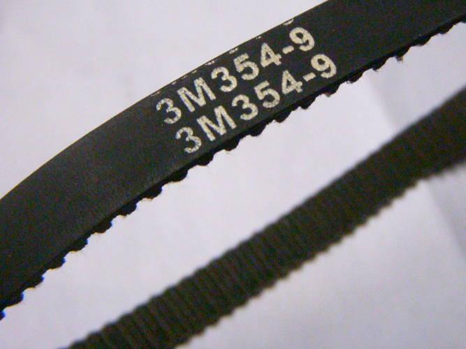 Зубчатый ремень 3М-354-9 для шлифовального станка