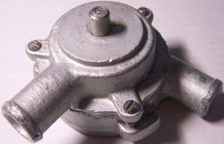 Металлический насос стиральной машины Волна