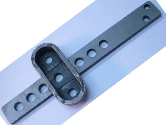 Шток с корытом 12 мм для электролобзика Craft, Энергомаш, Elenberg