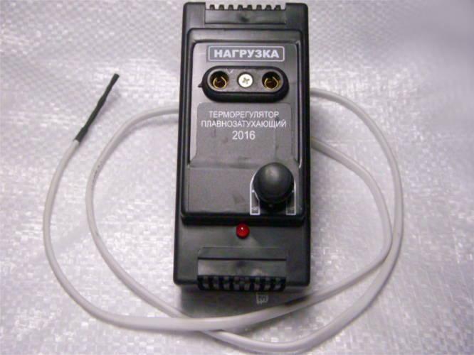Электронный терморегулятор для инкубатора Рябушка