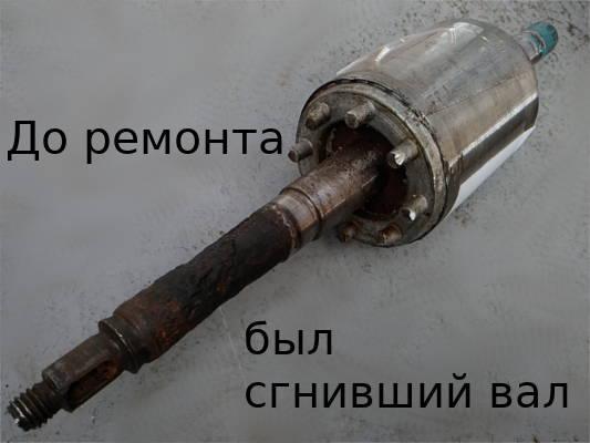 Реставрация ротора насосной станции JY-1000