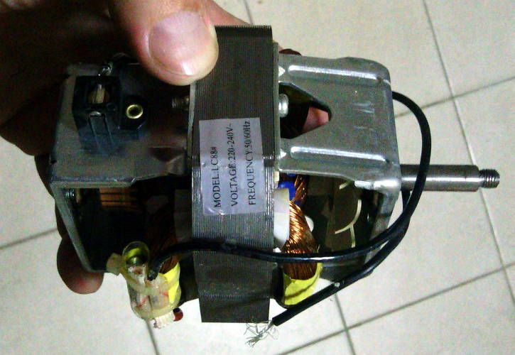 Электродвигатель LC88 для кухонного комбайна