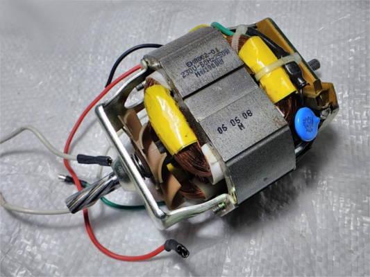 Электродвигатель EH-8802 для электромясорубки Mirta, Rainford на 7 зубов