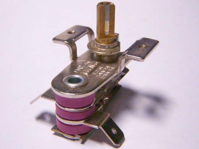 Биметаллический терморегулятор 10-15A для электродуховки VIMAR VEO-4655, -55100, -3725, -2203