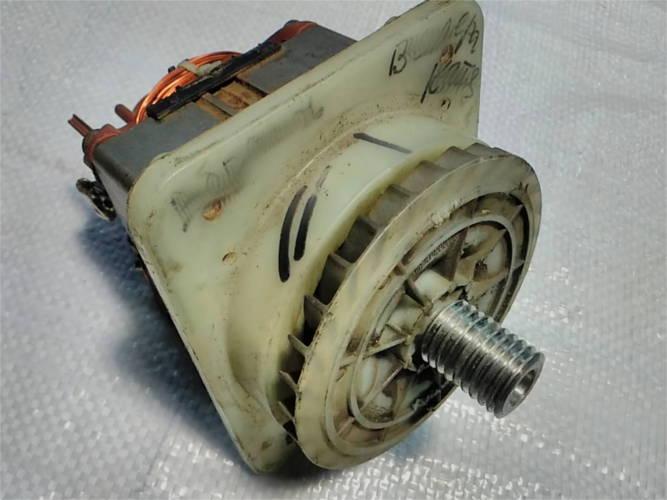 Замена шкива и обмотки якоря двигателя колесной газонокосилки