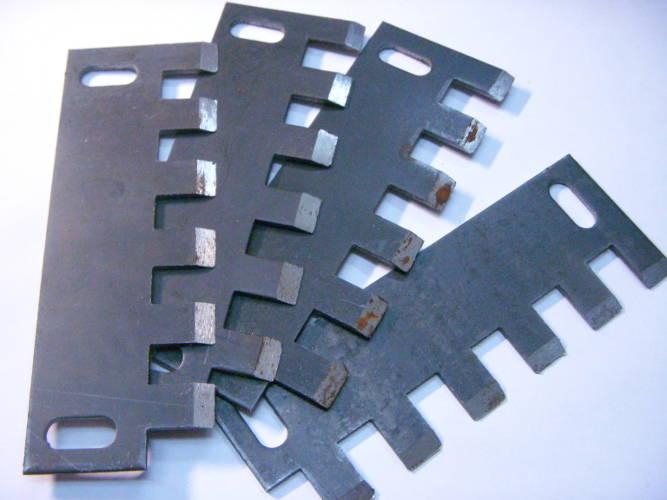 Комплект каленых ножей для корморезки Лан-5
