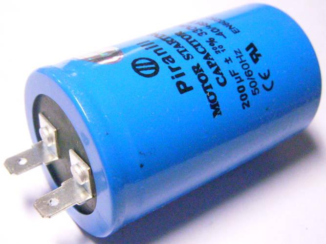 Пусковой конденсатор 200мкФ на две клеммы