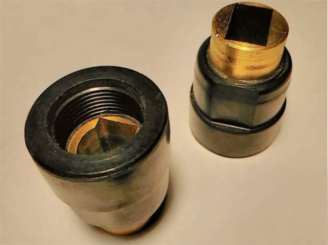 Щеткодержатели h31.5 диаметрами d22-23-24 на болгарку