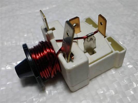 Пусковое реле Danfoss 0,5 Ампер с индуктивной катушкой