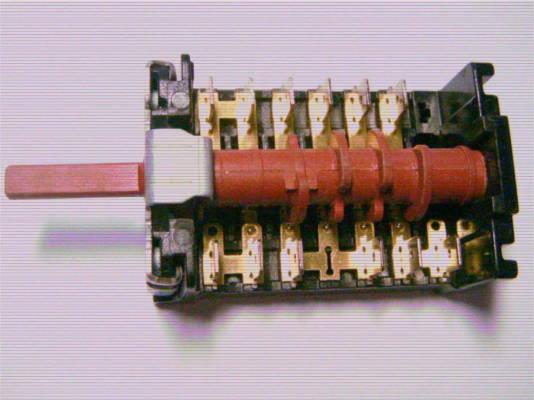 6-позиционный переключатель 7 LA Gottak 860501K для электроплиты
